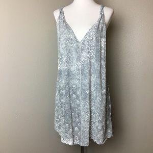 Anthropologie Scrapbook Distressed Tank